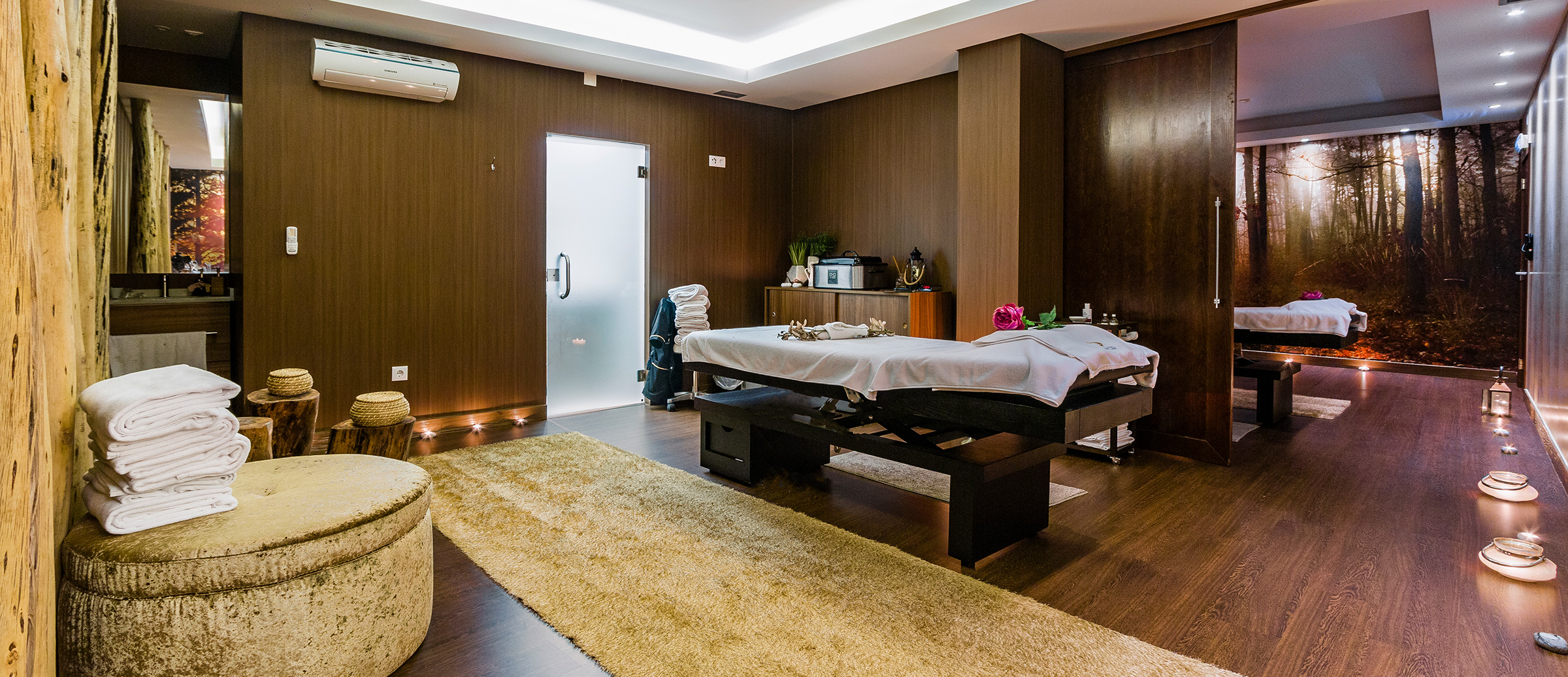 Sala de massagens do Spa Real - Lisotel Hotel & Spa