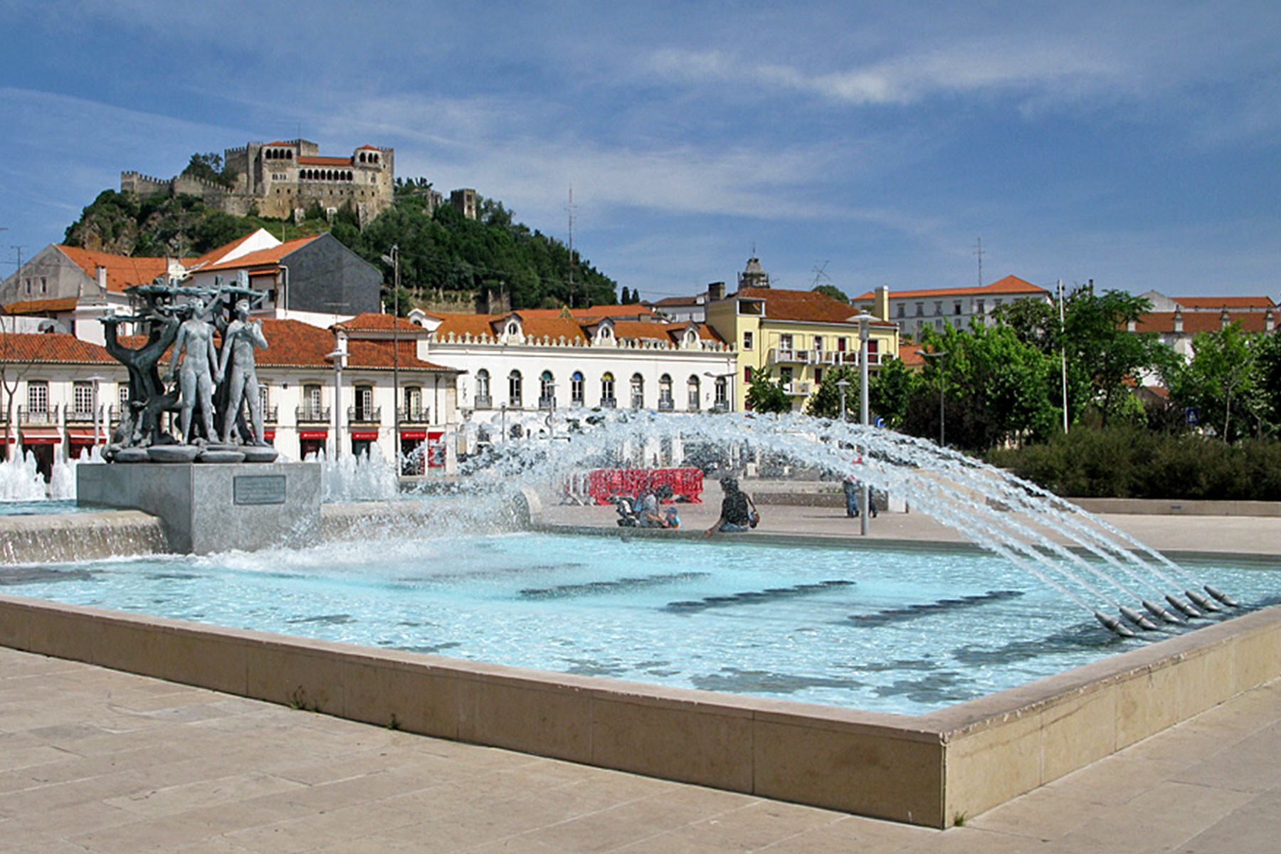 Luminosa Fountain, Leiria