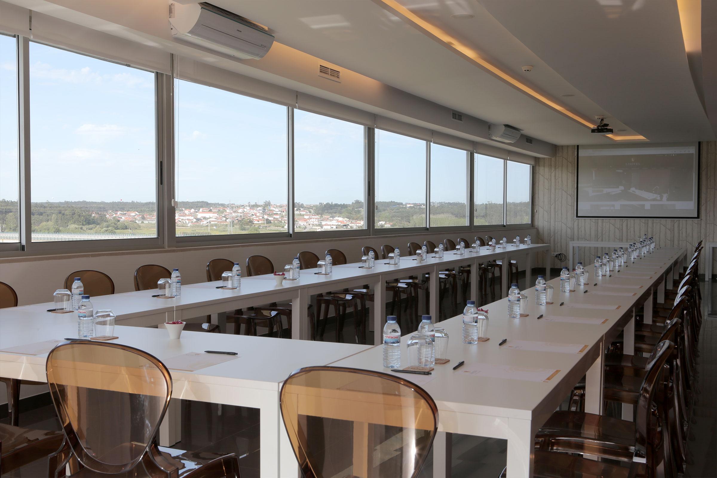 Sala de reuniões Santa Isabel - Lisotel Hotel e Spa