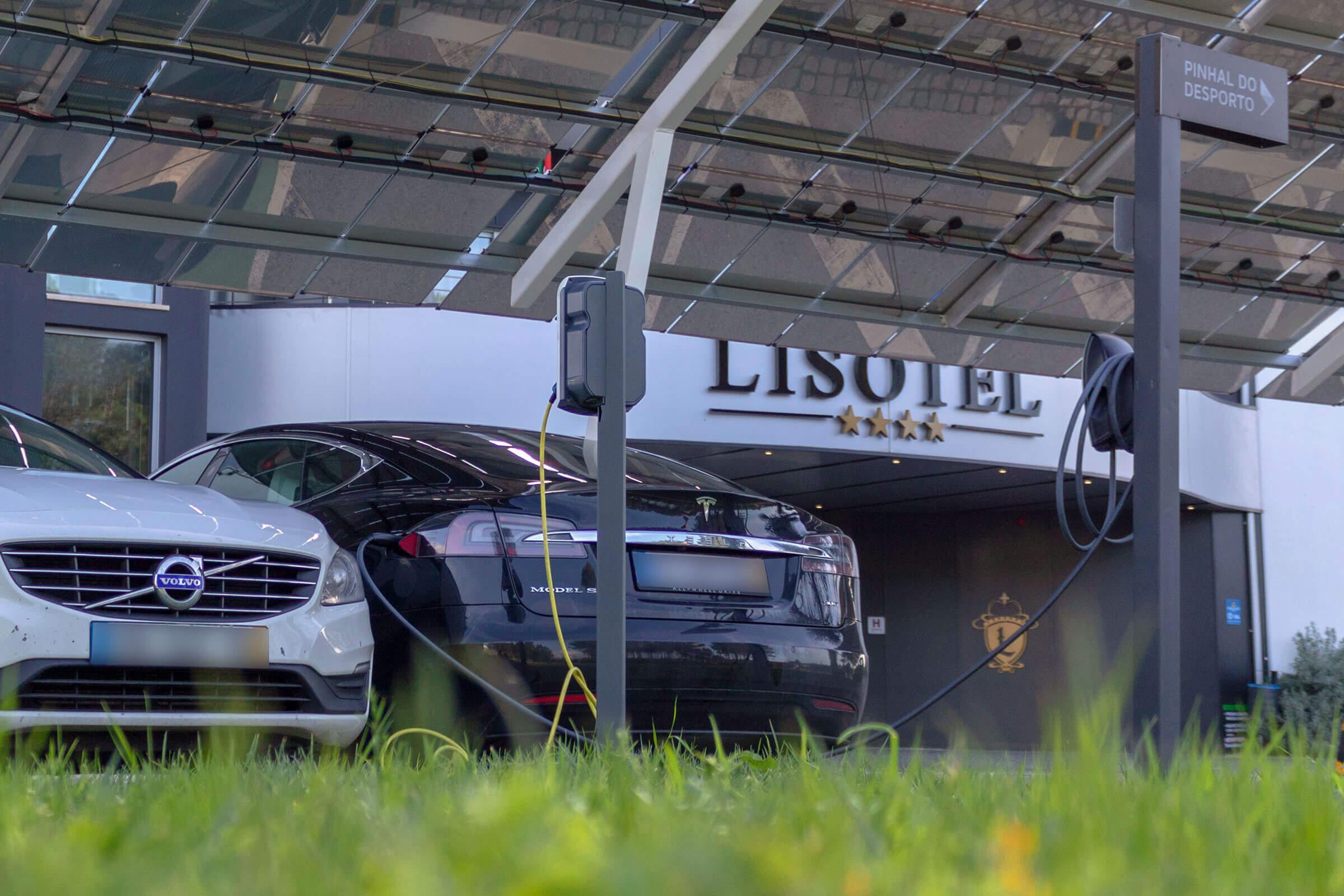 Postos de carregamento para veículos elétricos - Lisotel Hotel & Spa