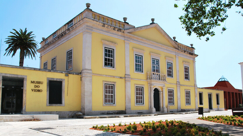 Glass Museum in the Palácio Stephens, Marinha Grande
