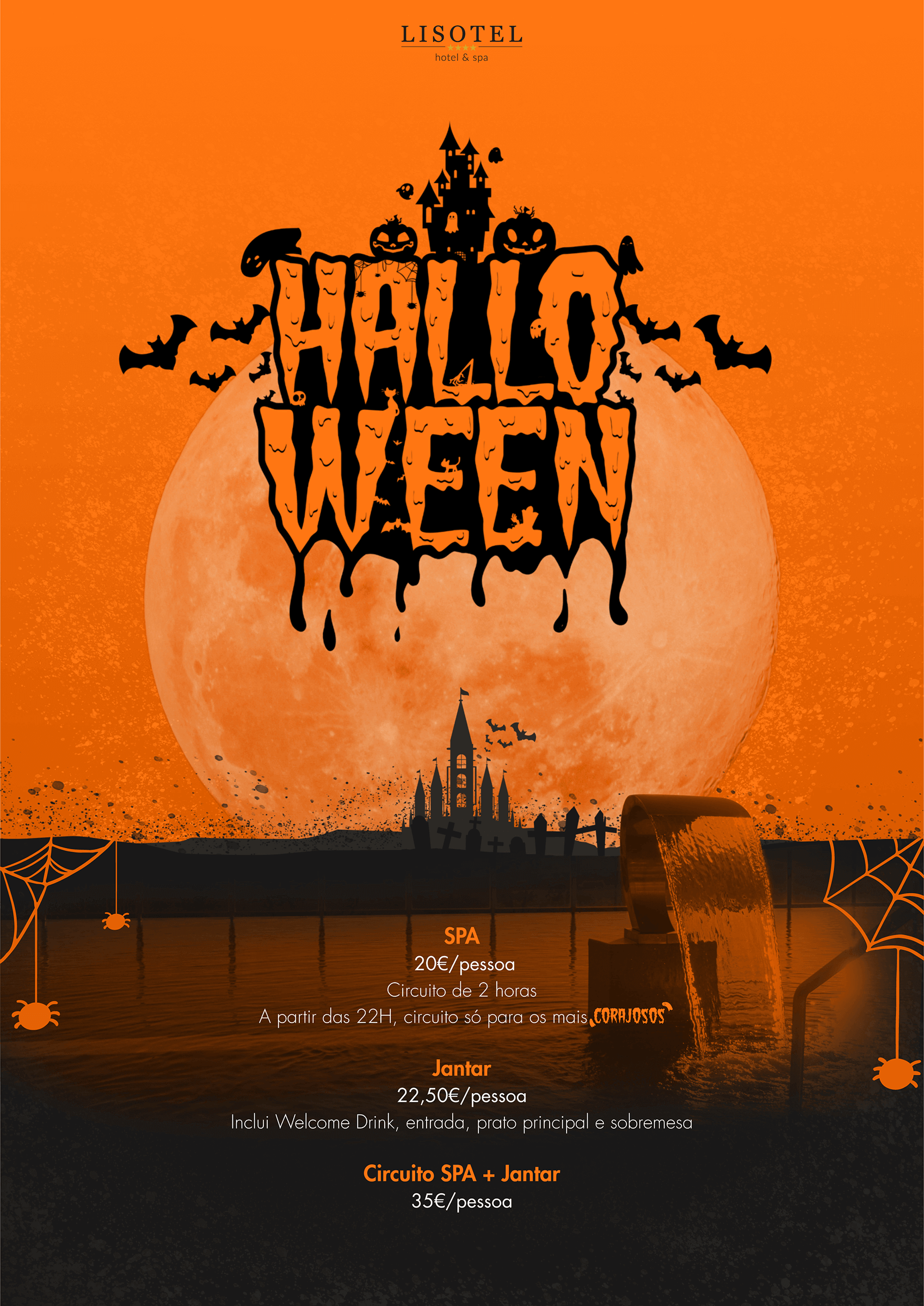Evento Halloween 2019 - Lisotel Hotel & Spa
