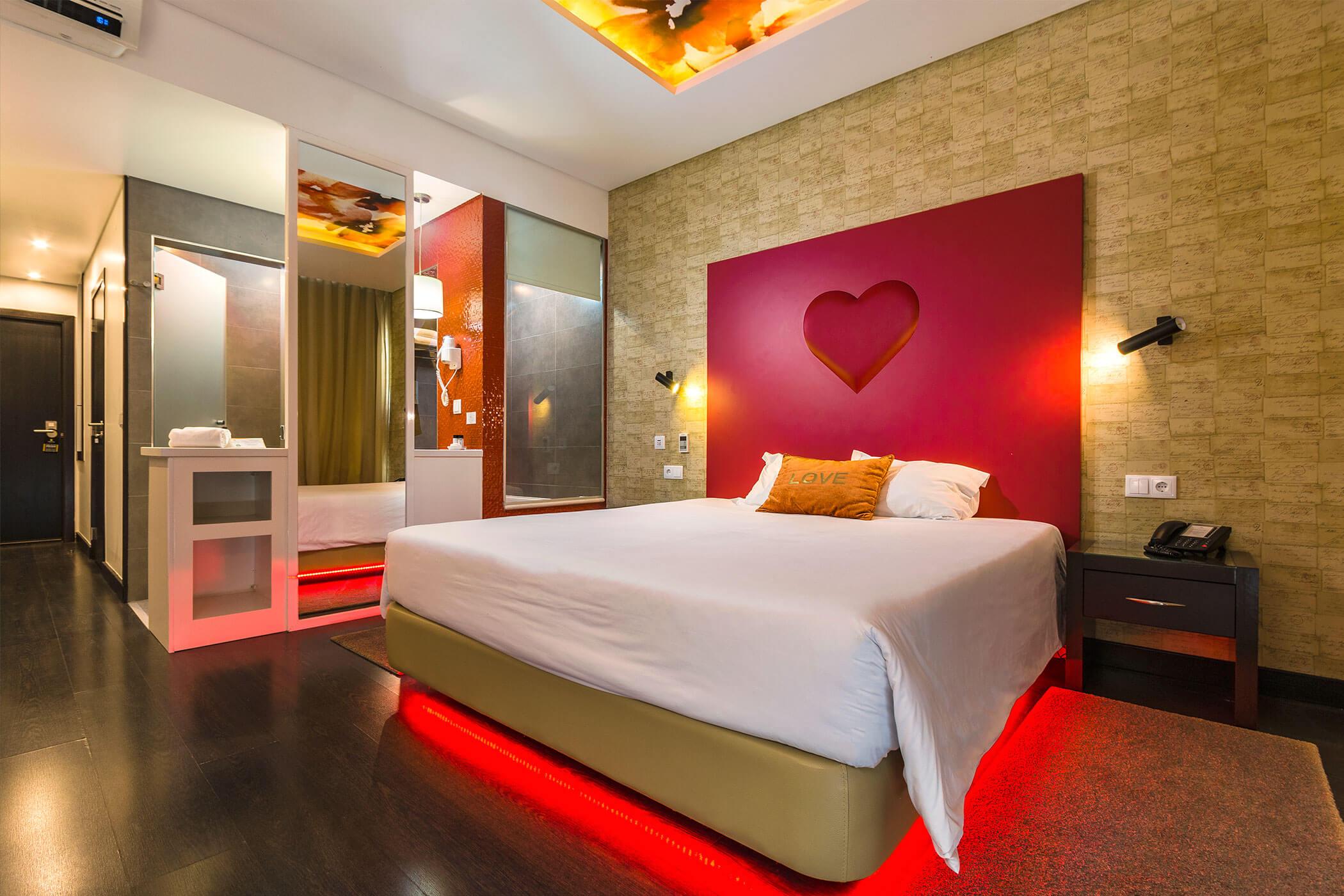 Habitación doble Standard Amor e Cegovim - Lisotel Hotel & Spa, Leiria