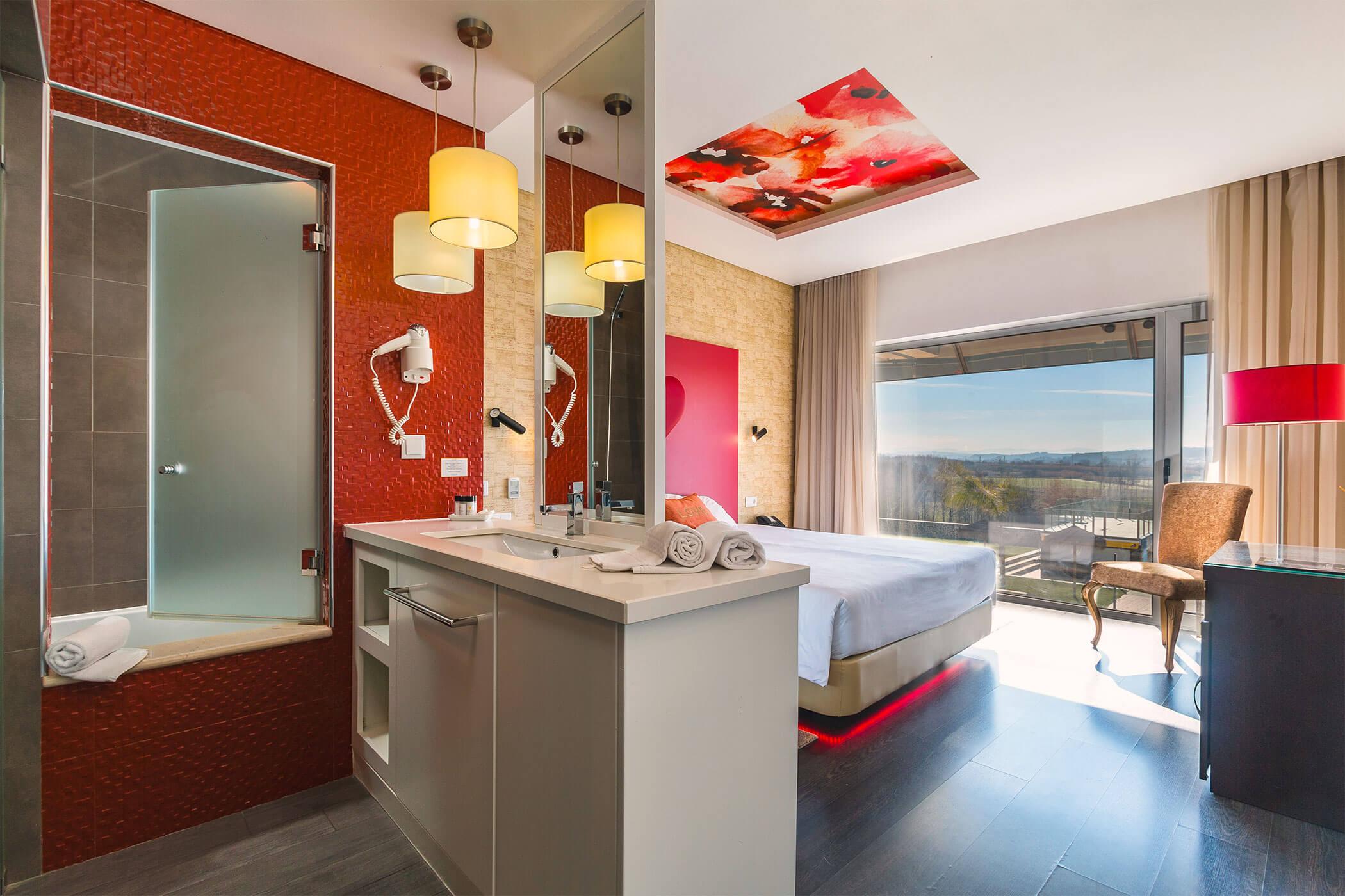 Standard Double Room Amor e Cegovim, with hydromassage bathtub - Lisotel Hotel & Spa, Leiria