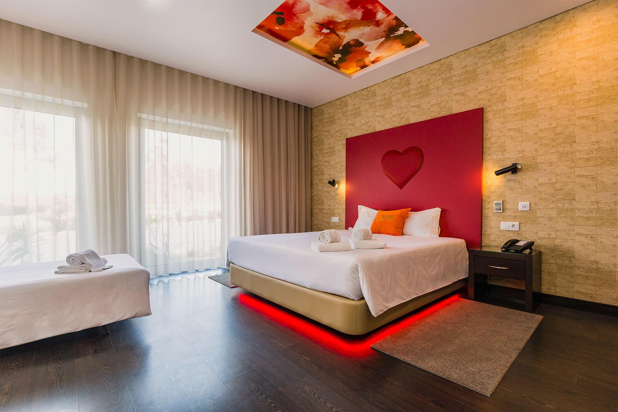 Habitacion de movilidad condicionada Amor e Cegovim - Lisotel Hotel & Spa, Leiria