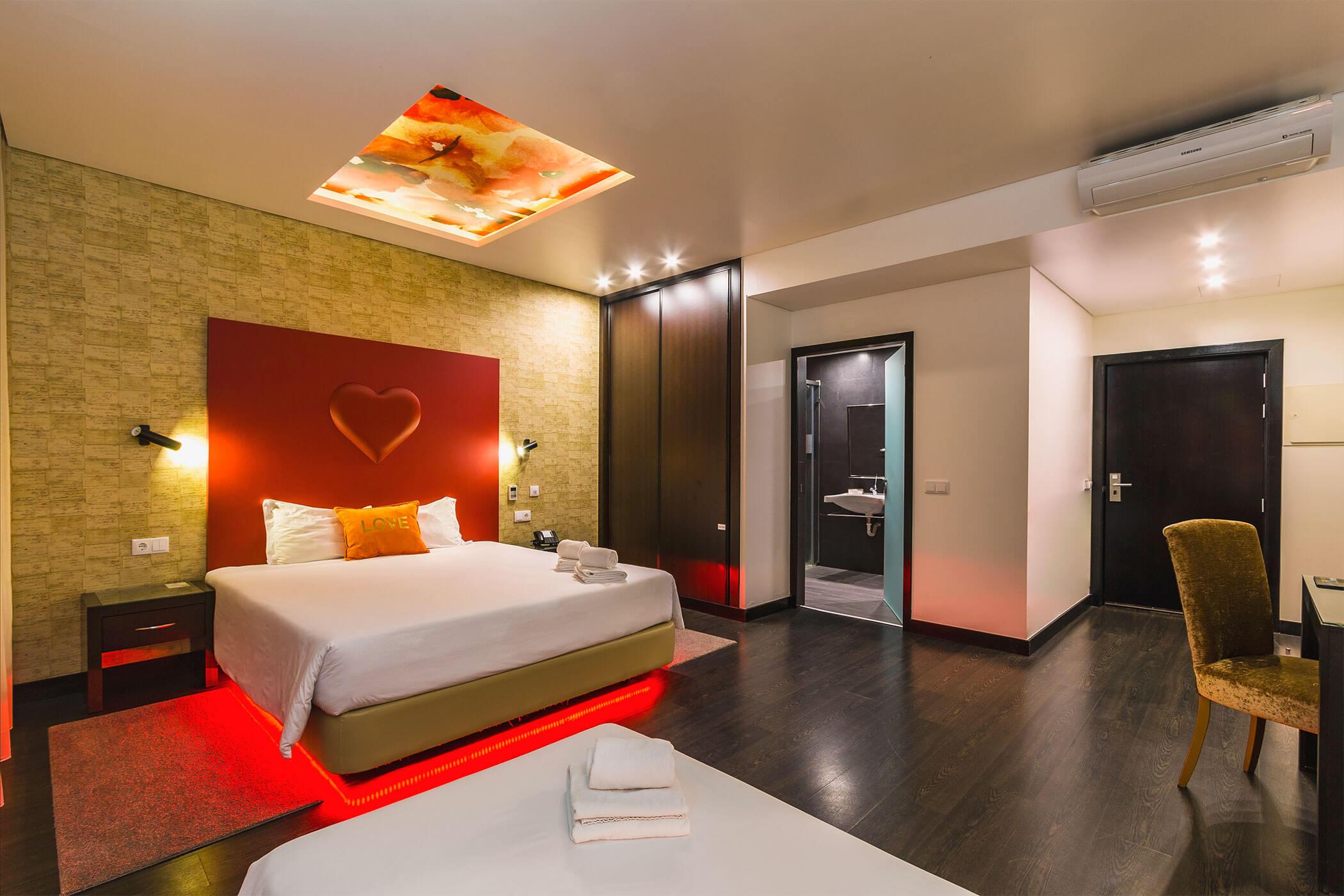 Amor e Cegovim room for reduced mobility - Lisotel Hotel e Spa, Leiria