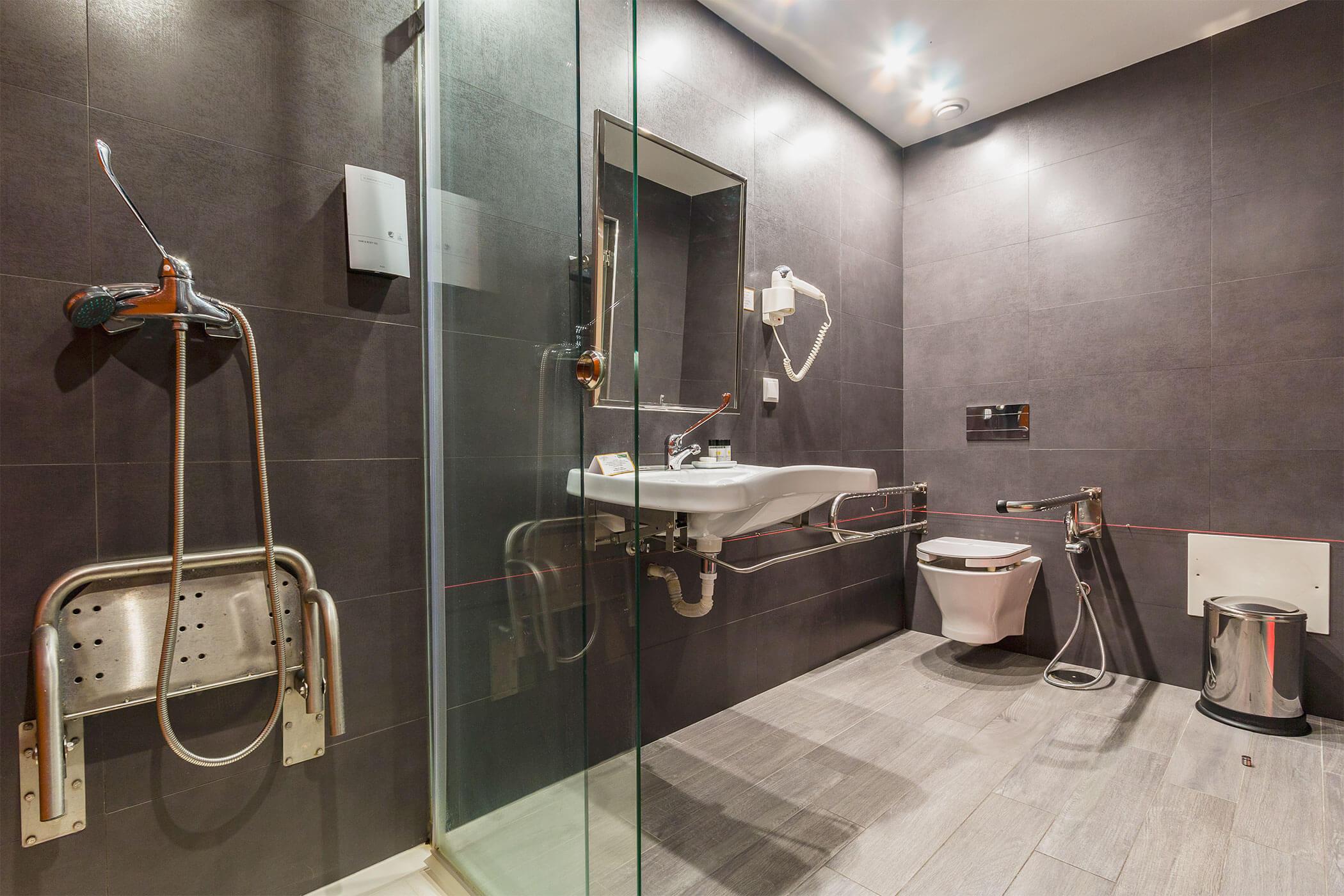 Quarto de mobilidade condicionada Amor e Cegovim - Lisotel Hotel e Spa, Leiria
