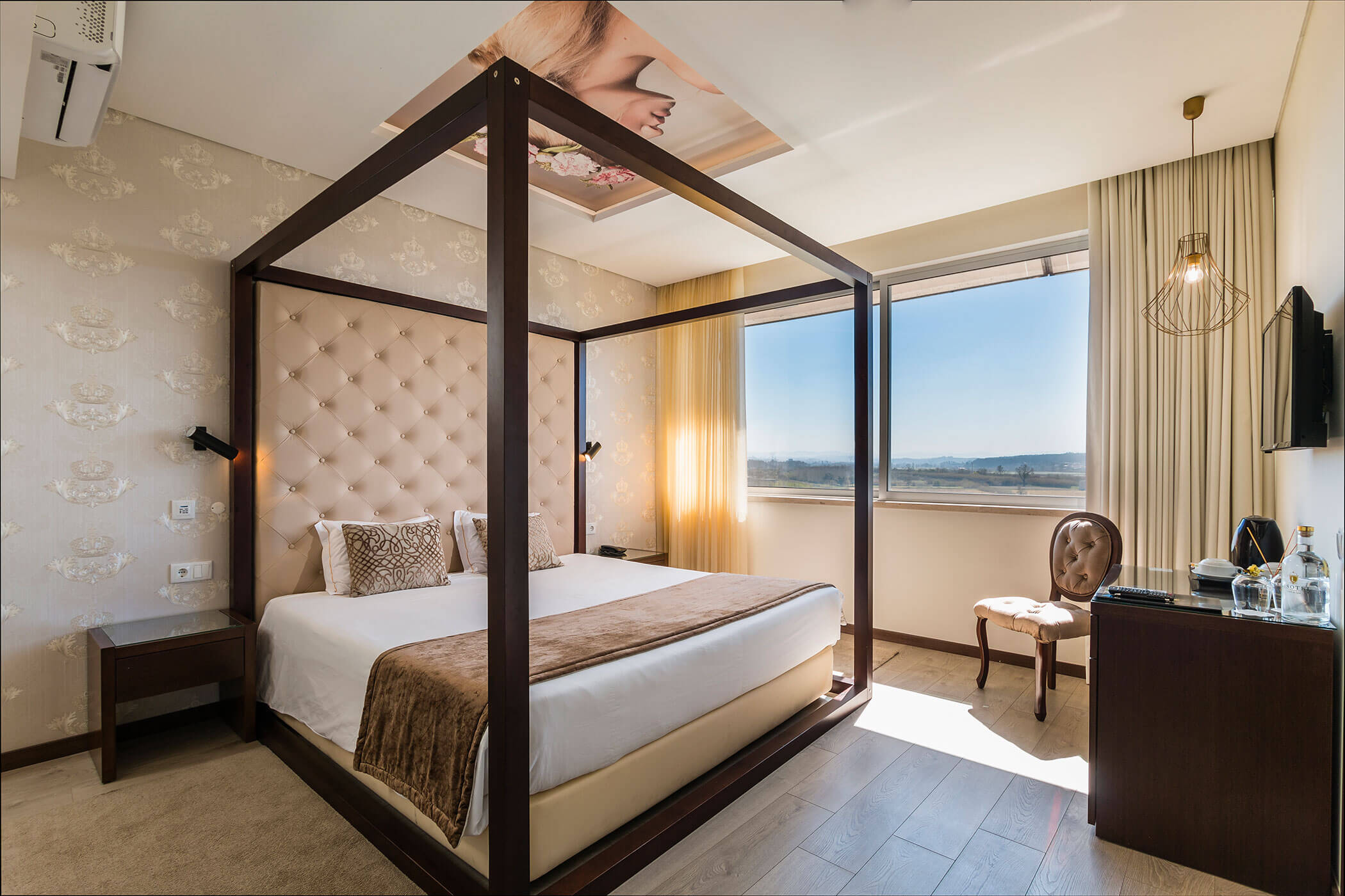 Quarto Duplo Superior Princesa Zara - Lisotel Hotel e Spa, Leiria