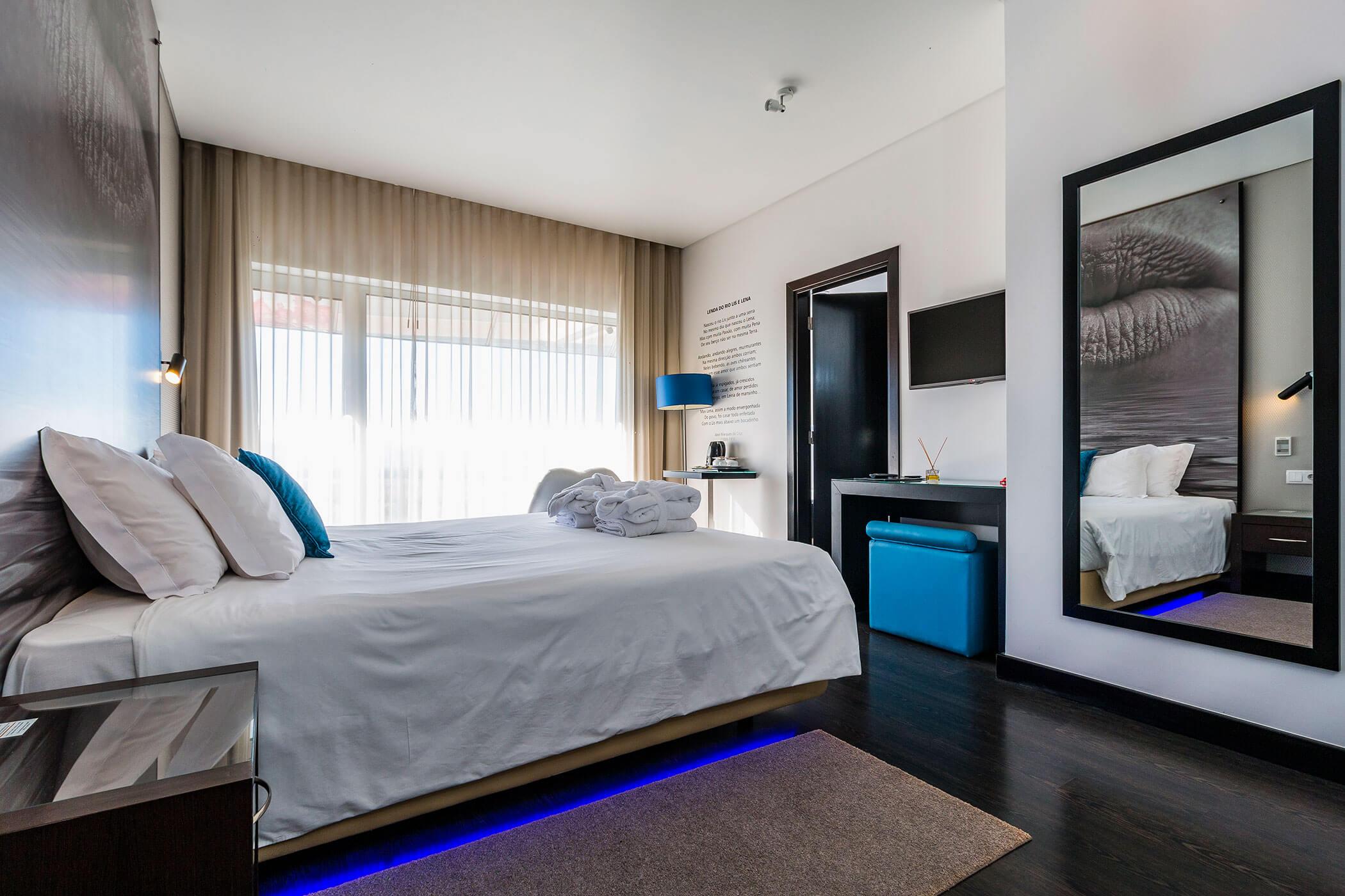 Quarto Duplo Superior Rio Lis e Lena - Lisotel Hotel e Spa, Leiria