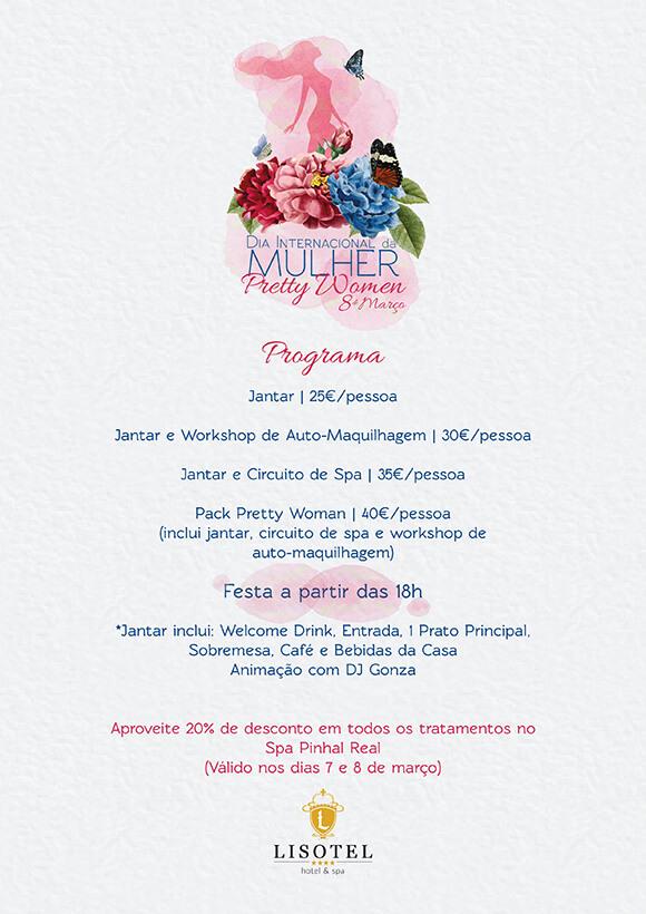 Pretty Women 8 de Março 2020 - Programa do Dia da Mulher