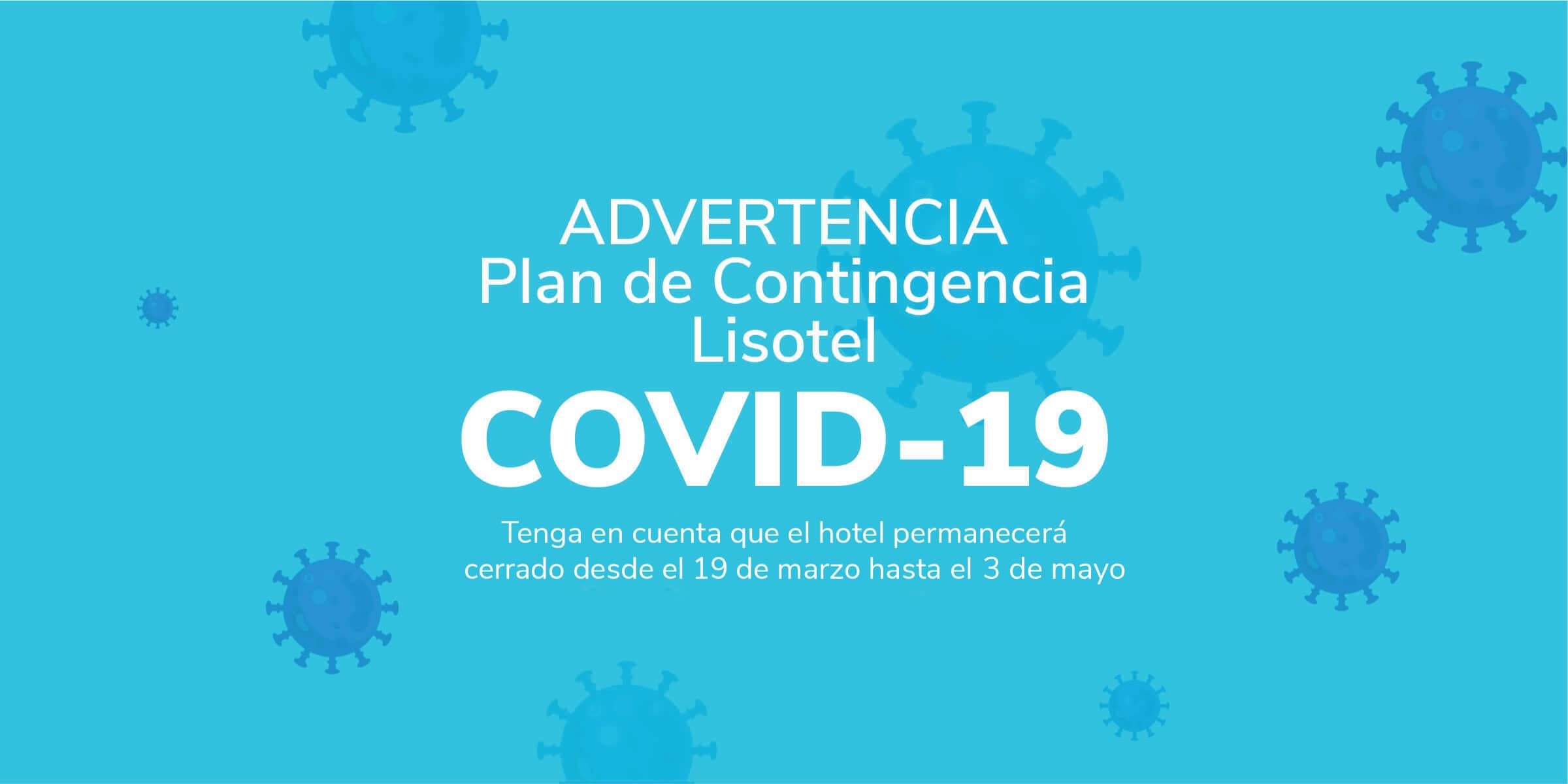 Advertencia - Plan de Contingencia COVID-19