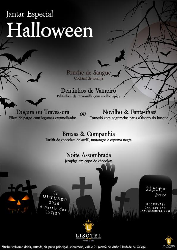 Evento Halloween 2020 - Lisotel Hotel & Spa