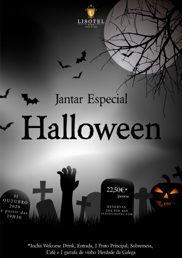 Evento Halloween 2020 - Lisotel Hotel & Spa